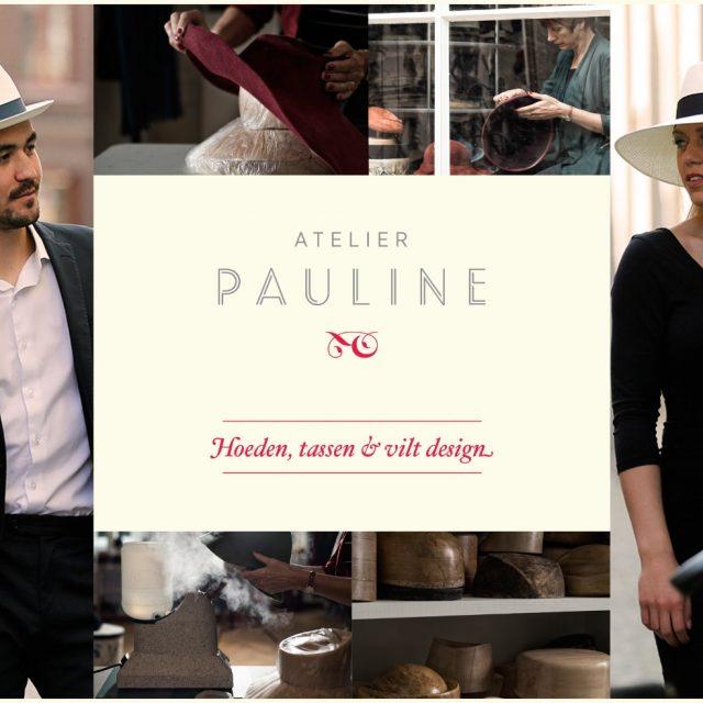 Flyer ontwerp Ron Ramaekers webdesign Atelier Pauline