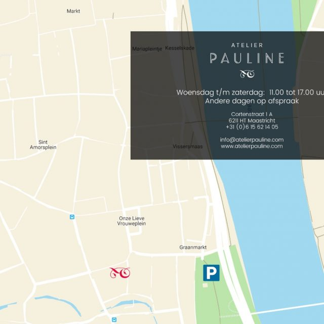 Flyer ontwerp maeker webdesign maastricht Atelier Pauline