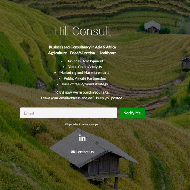 Hill consult Maastricht - Maeker Maastricht webdesign in ontwikkeling